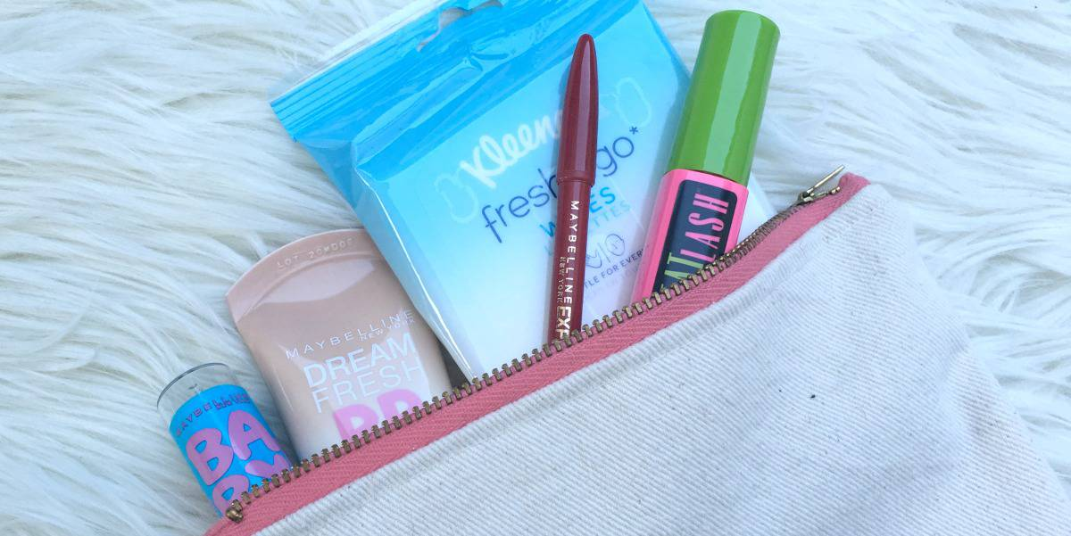 DIY Travel Makeup Bag & Must Have Beauty Products for Travel