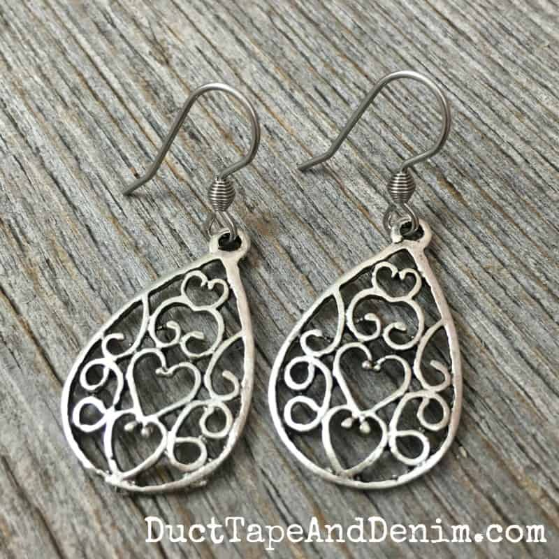DIY Filigree Earrings