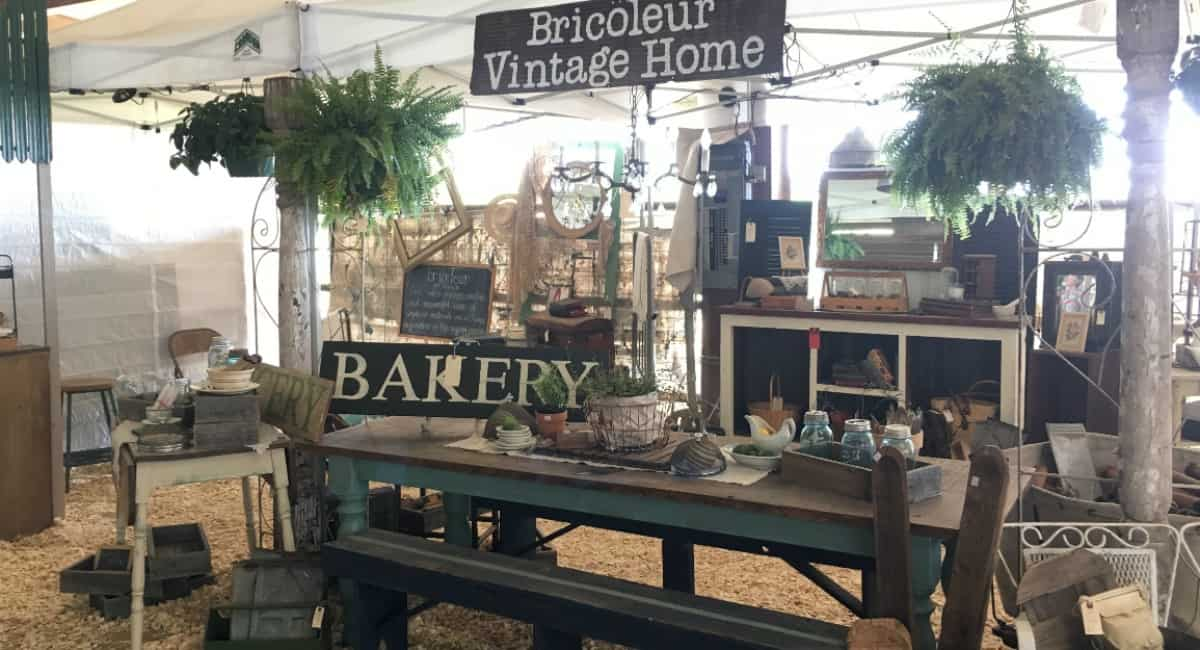 South Central Texas Vintage Market Days, Waxahachie, Texas, Spring 2016