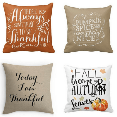 Fall Pillow Covers Starting Under $10