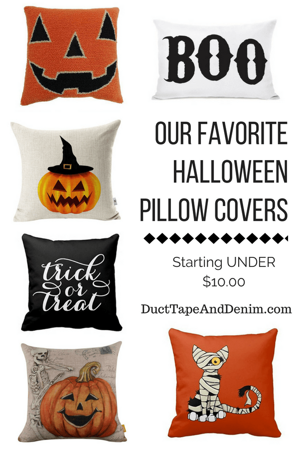Halloween Pillow Covers Starting Under $10