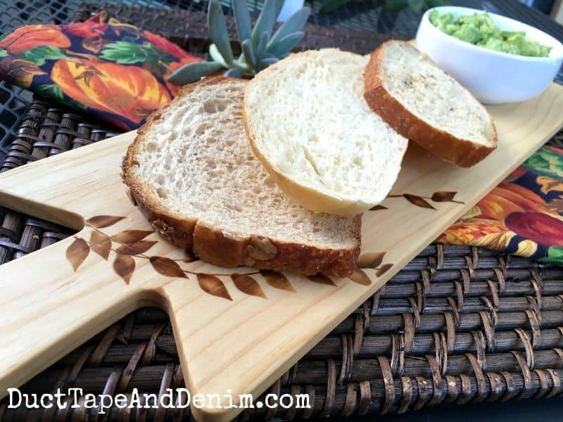 Avocado Toast on Sandwich Serving Boards