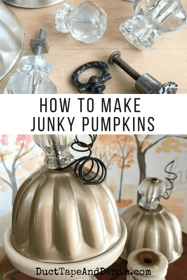 how to make junky pumpkins, collage 2