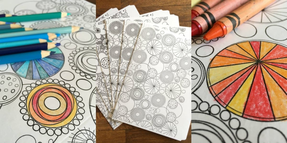 Coloring for Grown Ups | Coloring File Folders