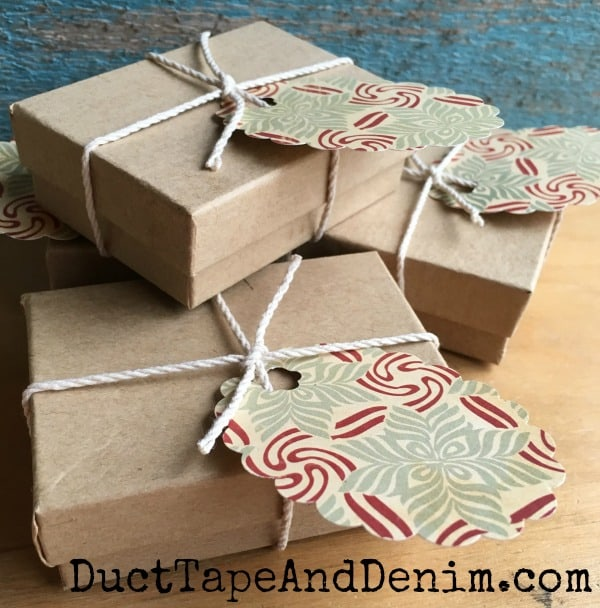 Easy Christmas Gift Box | Jewelry Gift Box