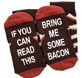 bring me bacon socks