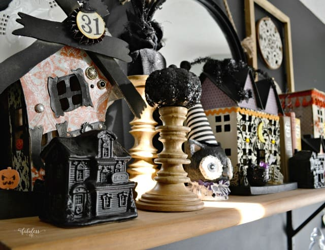 101 Fun Ideas to Decorate Your Halloween Mantels