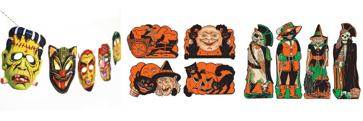 vintage halloween decorations meet my thrift store jack olantern - Halloween Vintage Decorations