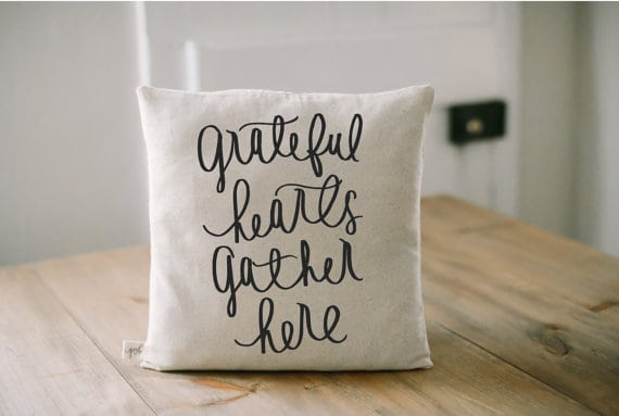Grateful hearts gather here | DuctTapeAndDenim.com