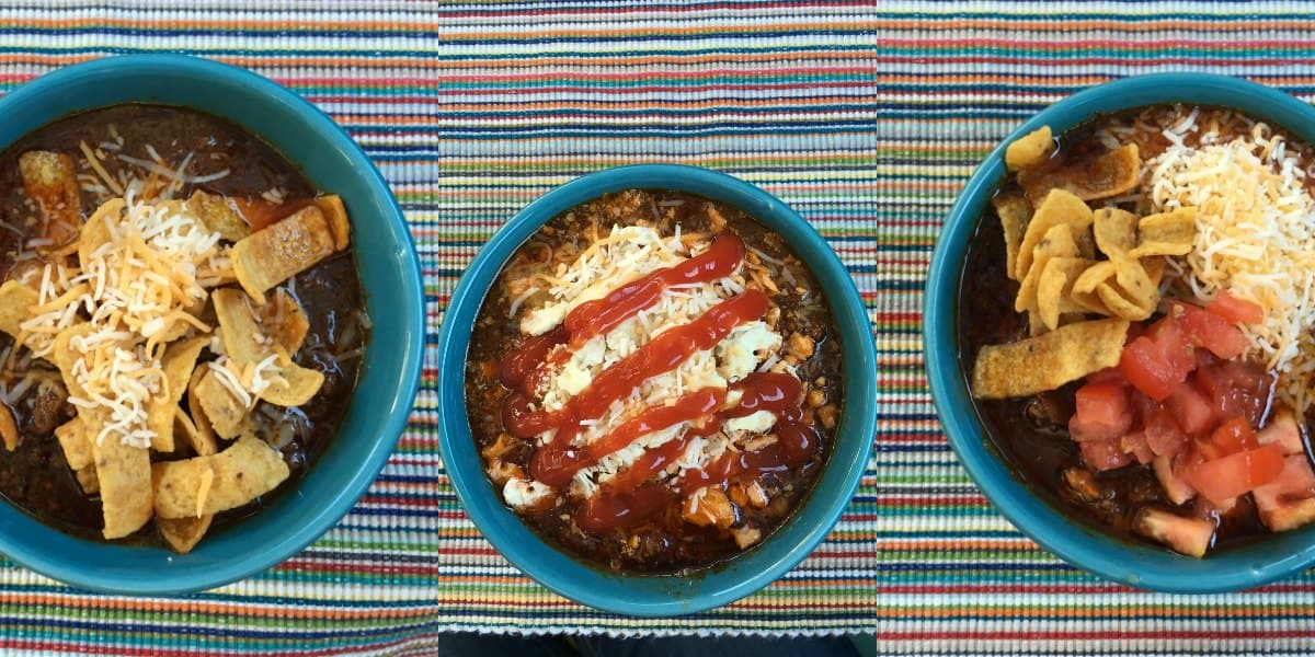 Simple Texas Chili Recipe, Served 3 Ways, PLUS a Virtual Chili Cookoff
