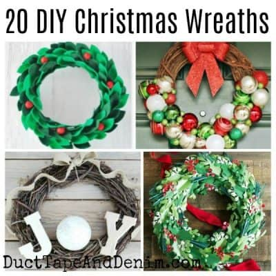 20 DIY Christmas Wreaths | Easy Christmas Decorations