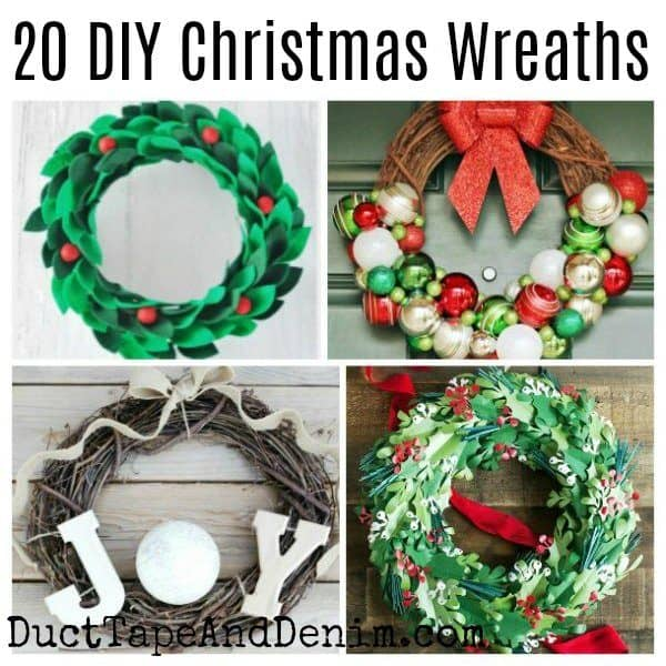 20 diy christmas wreaths square