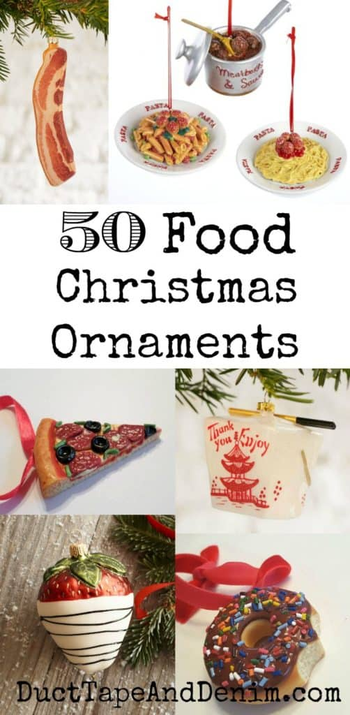 50 food christmas ornaments gift ideas for the foodie on Christmas gift ideas for cooking lovers