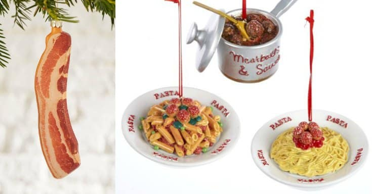 50 Food Christmas Ornaments | Gift Ideas for the Foodie on Your List!