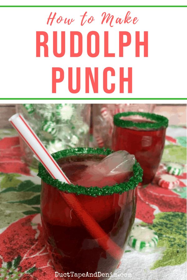 How to Make Rudolph Punch, pin 1