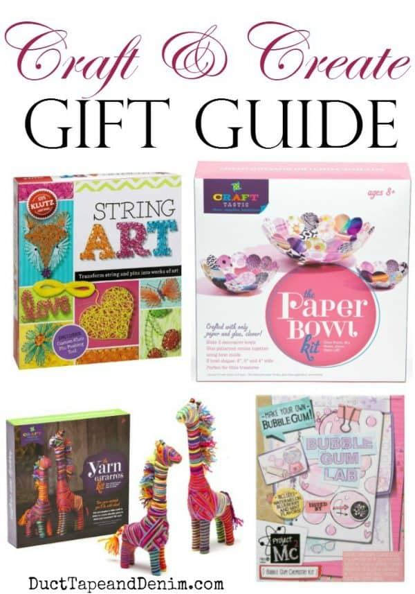 Creative Craft Books for Children, Gift Guide for kids | DuctTapeAndDenim.com