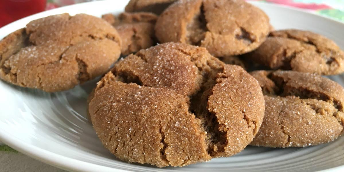 Gingersnap Cookies Recipe, aka Kris Krinkles