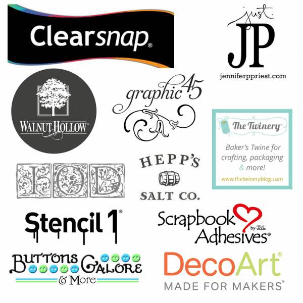 Handmade holidays blog hop brand sponsors | DuctTapeAndDenim.com