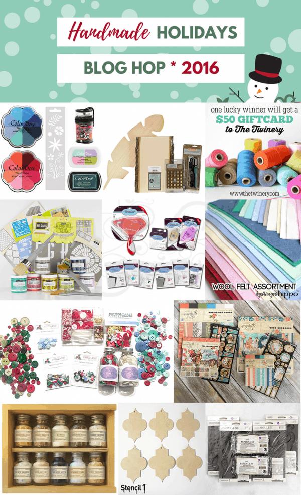 Handmade holidays craft supply giveaway | DuctTapeAndDenim.com