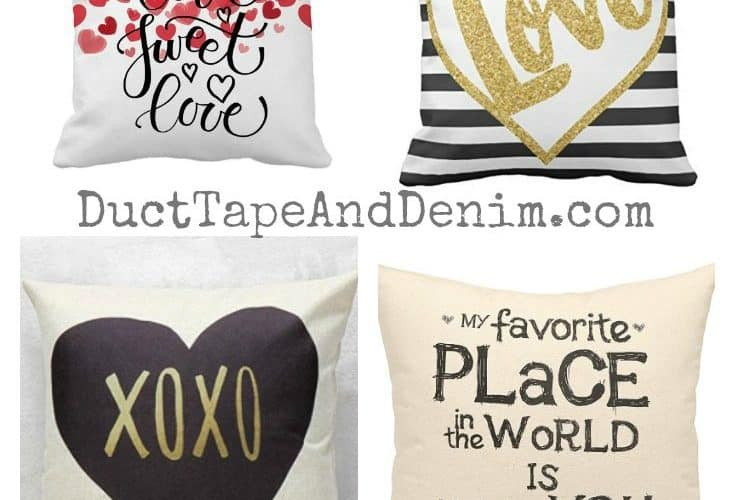32 Valentine Pillow Covers Under $10.00