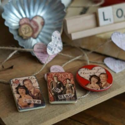 Valentine's Day Game Piece Magnets