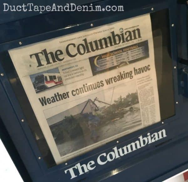 Weather wreaks havoc on Junk Bonanza Portland   DuctTapeAndDenim.com