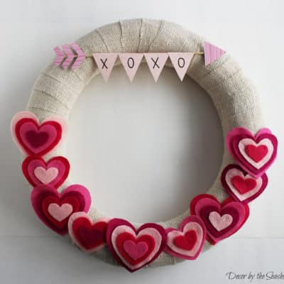 17 DIY Valentine's Day Wreath Ideas to Make