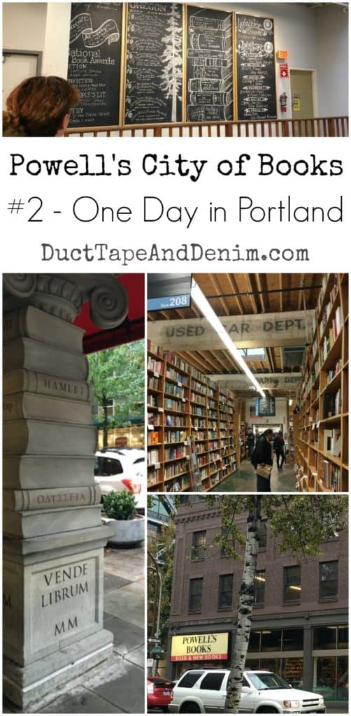 Powell's City of Books - Where to go in Portland, Oregon, if you just have one afternoon. | DuctTapeAndDenim.com