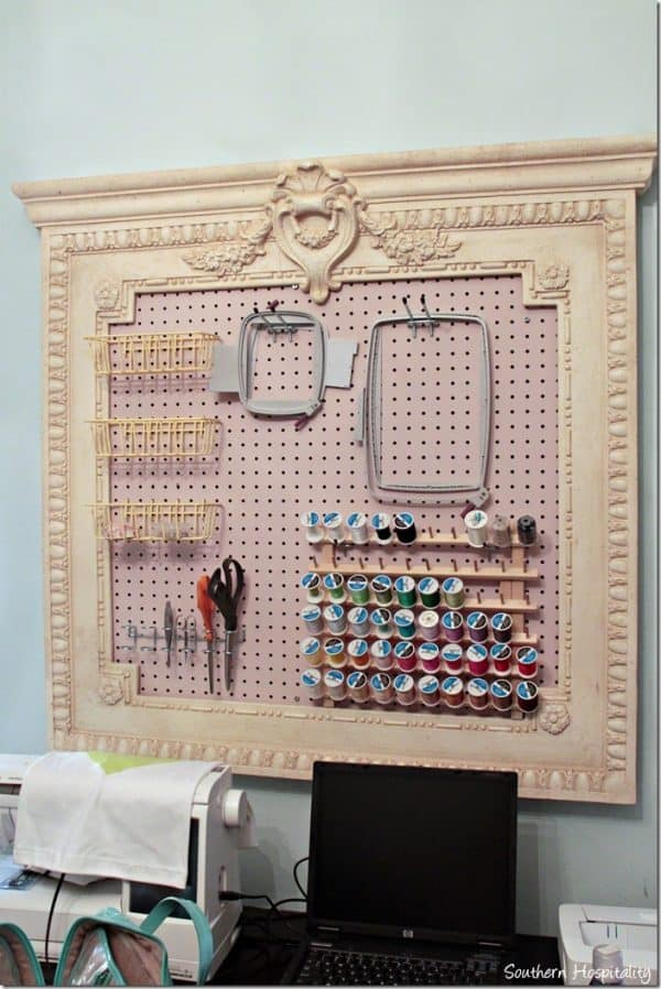 craft room ideas on a budget