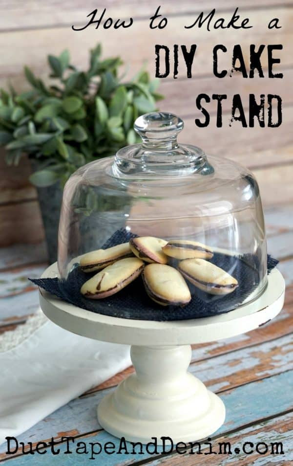 How To Make A Diy Cake Stand From Thrift Store Finds