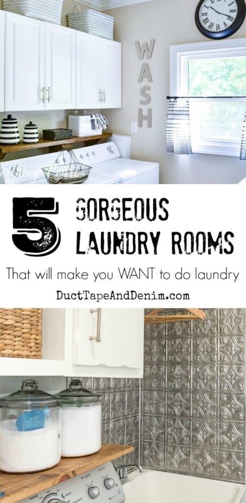 5 Gorgeous Laundry Rooms that will make you WANT to do laundry