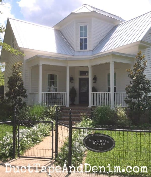Where to Stay in Waco, Texas, Magnolia House | DuctTapeAndDenim.com