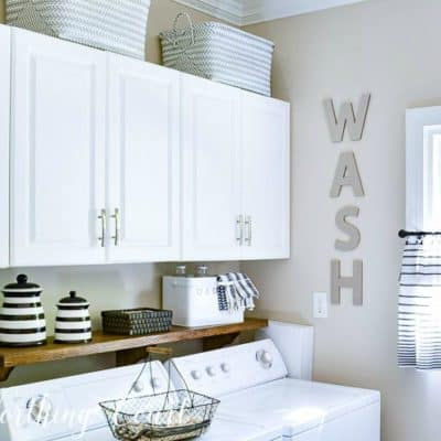 5 Gorgeous DIY Laundry Rooms That Will Make You Want to Wash Clothes!