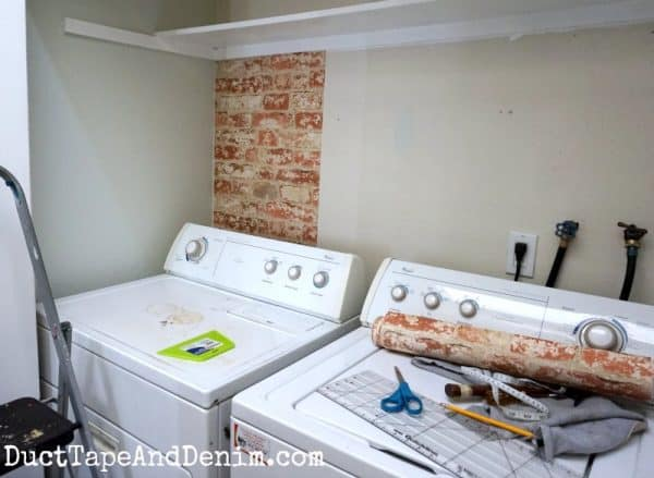 How to Design a Simple Laundry Closet Makeover on a $100