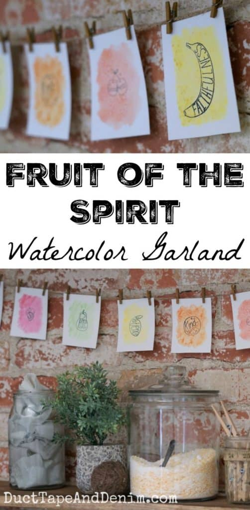 http://ducttapeanddenim.com/fruit-of-the-spirit-garland/