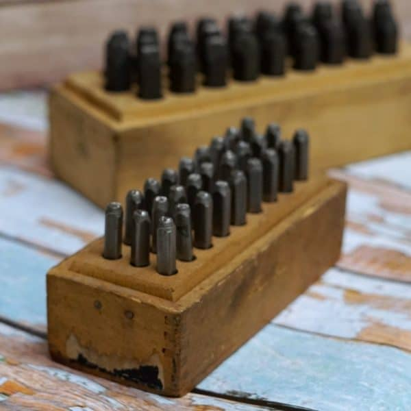 How to store metal stamps, wood blocks | DuctTapeAndDenim.com