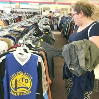 Ten Tips for Buying Thrift Store Clothes