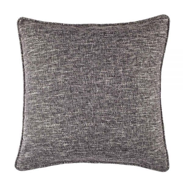 Gray Tweed Pillow 20 x 20