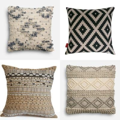 Magnolia Home by Joanna Gaines pillows and knock offs on DuctTapeAndDenim.com
