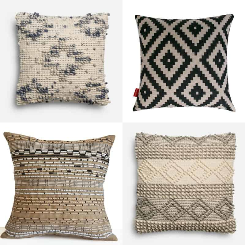 Bathroom accessories vintage - How To Get The Look Of Joanna Gaines Pillows On A Budget