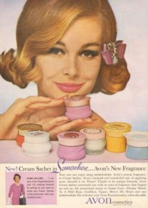 Avon collectibles, creme perfume jars