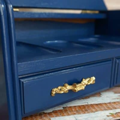 How to Paint a Man's Jewelry Box or Valet