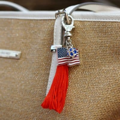 How to Make a Tassel Out of Embroidery Thread & Turn it Into a Purse Charm in 15 Minutes! {VIDEO}