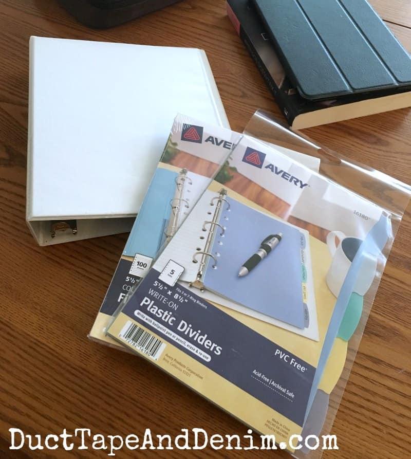 Bible journaling supplies | DuctTapeAndDenim.com
