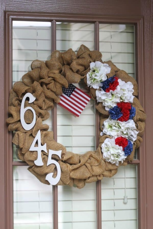 29 Easy 4th Of July Wreaths For The Best Patriotic Door In
