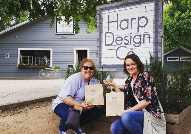 Harp Design Co, Ann, Lynne, and our purchases