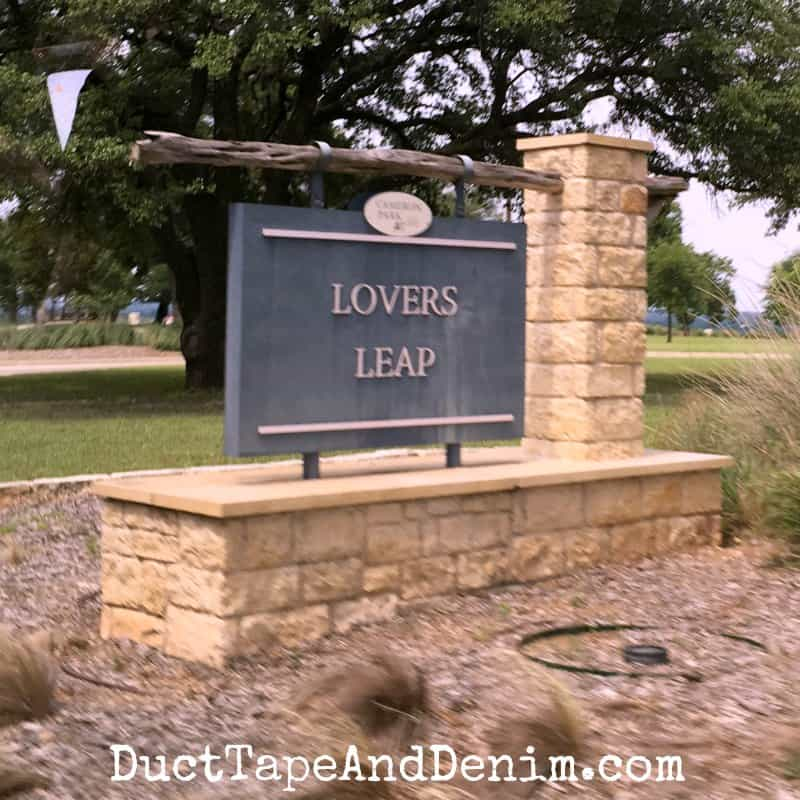 Lovers Leap, stop on Waco tour | DuctTapeAndDenim.com