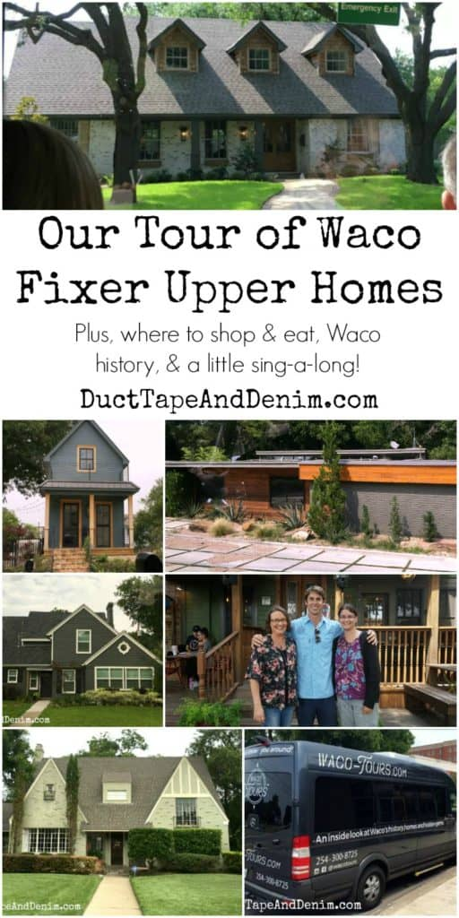Our tour of Waco Fixer Upper homes. Plus, where to shop, eat, Waco history. Book with Waco Tours on your next trip to Magnolia Market! | DuctTapeAndDenim.com