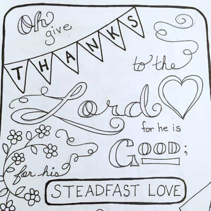 Psalm 1181 Scripture Coloring Page