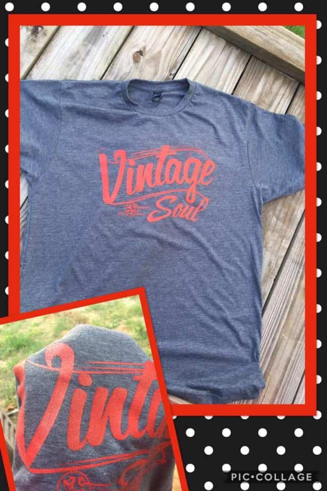 Vintage Soul T Shirt Duct Tape And Denim